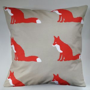 "16"" Cushion Cover in Anorak Proud Fox"